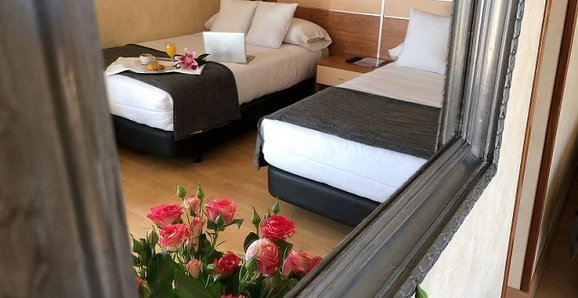 Superior room with terrace City House Florida Norte Madrid Hotel