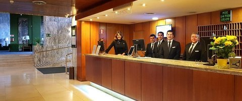 24-hour reception City House Florida Norte Madrid Hotel